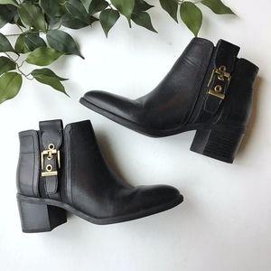 Franco Sarto Eminent Block Heel Ankle Bootie